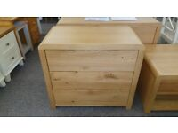 Julian Bowen Curve 3 Drawer Chest Can Deliver