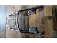 Yamaha YBR 125 grab handle/rack