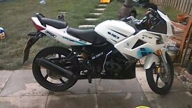 XTRS125, 12 months MOT, V5, spare key, new tires and battery....