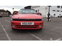 TOYOTA CELICA Automatic 2.0 GT 4 Wheel Steering 2dr Convertible (H reg 1991) LOW MILEAGE