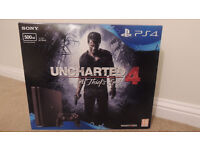 Playstation 4 Slim 500GB ( PS4 ) Uncharted 4 bundle *Used twice **£50 of RRP!*