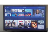 TV 32 inch with Original Package - HDMI, USB, SCART + Remote