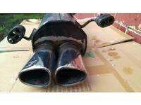 IRMSCHER Exhaust Back Box High Performance Sport Muffler VAUXHALL CORSA