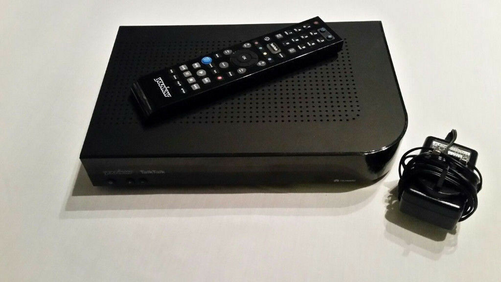 TALKTALK YOUVIEW HUAWEI DN370T 320GB HD FREEVIEW PVR TV BOX RECORDER