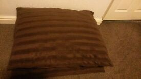 As new super large size 2 x brown cushion very comfy