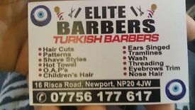 Barber required Royal barbers