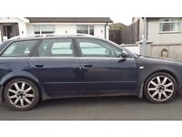PRICE DROP £995 Audi A4 T (190) Sport Quattro. Full yrs mot 15/11/17. Perfect for winter months