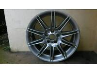 "Genuine BMW 19"" Mv4 M Sport E90,E91,E92 Front Alloy Wheel 8J"