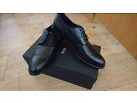 New Men Hugo Boss Black Shoes Elegant Smart Luxury New In Box