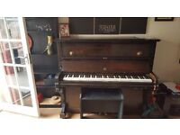 Piano in good condition reason for selling lost my site so lost interest