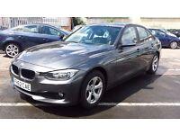 2013 BMW 3 SERIES 2.0 320d EfficientDynamics 4dr (start/stop) FBMWSH + 1 OWNER + AA REPORT,NEW SHAPE