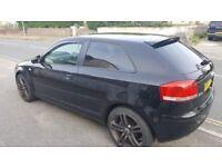 Audi A3 2.0 Sport Diesel Black 50+ MPG
