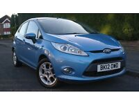 2012 Ford Fiesta Zetec 1.4 Diesel, 3 MONTHS WARRANTY available, £20 to tax per year £3499 BARGAIN!!!