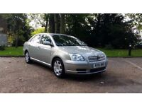 TOYOTA AVENSIS 1.8 COLOUR COLLECTION 06PLATE 2006 1OWNER FROM NEW 63000 MILES FULL SERVICE HISTORY
