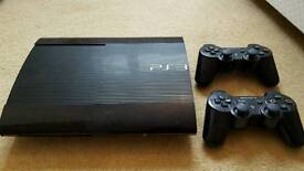 PS3 excellent condition with 14 games and 2 controllers