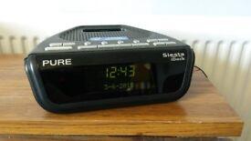 PURE SIESTA iDOCK DAB CLOCK RADIO