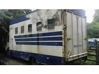 Ford cargo horsebox body