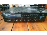 Yamaha Natural Sound Stereo Receiver Amplifier R-3 (left speaker channel faulty)