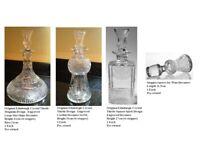 Edinburgh Crystal Collection - Thistle Design