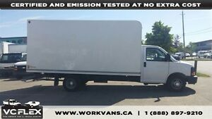 2013 Chevrolet Express G3500 16Ft V8 Gas Unicell Box