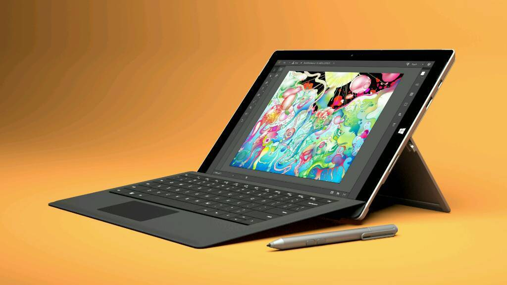 Surface 3 64 gb perfect condition + new pen & keyboard
