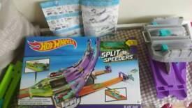 Hot wheels split speeders