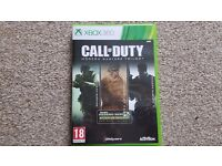 Xbox 360 games Call of Duty Modern Wafare Trilogy
