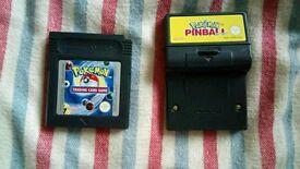 Pokemon Trading Card Game + Pinball GB GBC