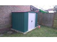 Garden shed 8x6 metal
