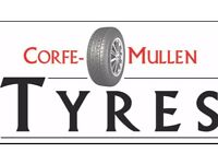 NEW AND PARTWORN TYRES SUPPLIED AND FITTED FROM £10