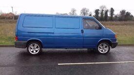VW Transporter T4 2.5 TDi 125 HP LWB Camper Van with FULL MOT, AIR CON