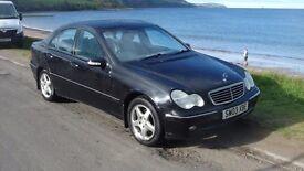 2003 Mercedes C180 Kompressor Avantgarde SE Auto