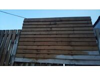 300 6 foot featheredge boards