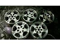 5x mitsubishi l200 shogun wheels barbarian