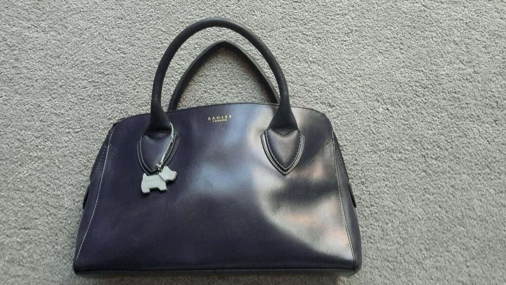 Navy Blue Radley handbag