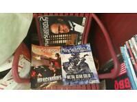 Retro video games magazines