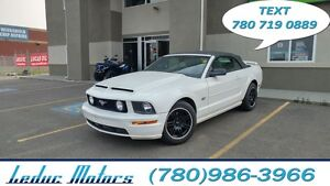 2007 Ford Mustang GT Premium CONVERTIBLE SHAKER 500 AUDIO SYSTEM