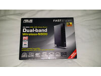 ASUS DSL-N66U Dual-Band Wireless-N 900 VDSL/ADSL Modem Gigabit Router - Brand New Sealed