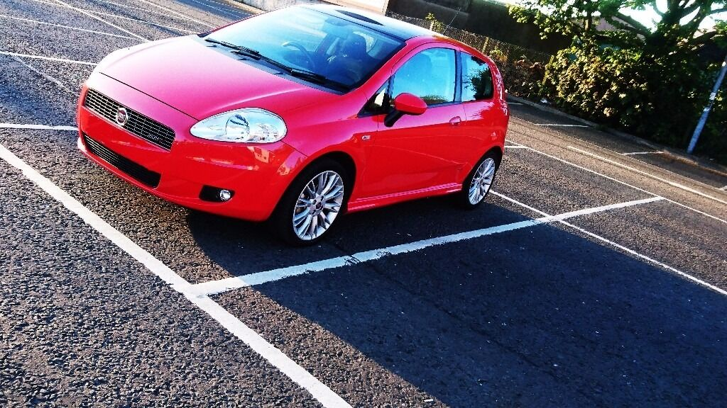 fiat grande punto sporting 1 9 multijet 130 bhp full service history full years mot in. Black Bedroom Furniture Sets. Home Design Ideas