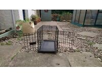 Small dog puppy pet crate