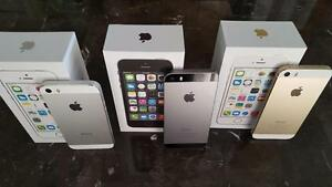 iPhone 5s 32GB & 16GB UNLOCKED NEW CONDITION in box all new accessories with 90 days warranty