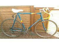 Retro Peugeot Road Bike