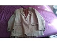 "Vintage Genuine Harris Tweed Jacket (46"" Chest) in great condition"
