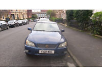 Lexus IS200 SE 2001 2.0, MOT till June 2018