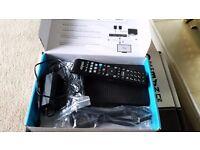 Talktalk Youview tv recorder freeview box DN360T