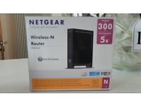 BOXED NETGEAR WIRELESS – N ROUTER