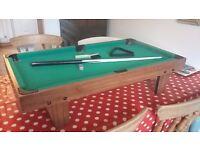 Small pool table. Wellingborough