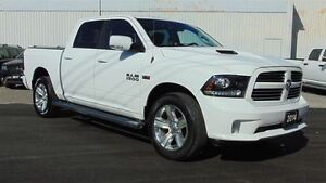 2014 Ram 1500 SPORT CREW 4X4 - LEATHER-ROOF-NAV