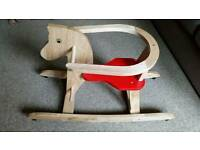 Rocking horse literally brand new