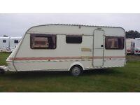 ELDDIS craftsman 17/4 lightweight 4 berth caravan